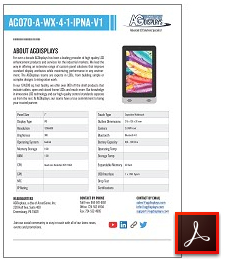 AG070-A-WX-4-1-IPNA-V1 rugged tablet datasheet