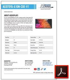 AG070YA-A10N-COE-V1 full lcd solutions