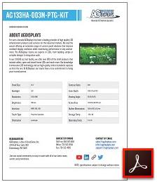 AG133HA-003N-PTG-KIT Full Solution LCD Display